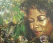 Kunstwerk Jazz Art - Denise in green