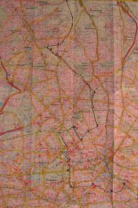 Detail B of Berlin Wall Map 001