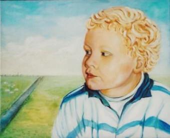 klassieke schilderijen van kinderportretten