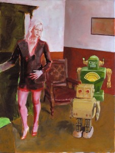 girl with robot(s)