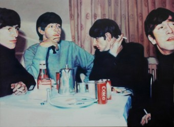 The Beatles polaroid
