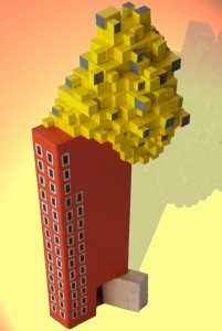 Yellow tower