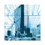 'Rotterdam Blue 2.'- grafiek in digitale print