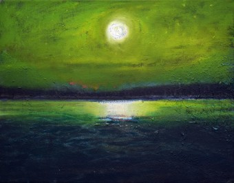 Moonlight on Veluwemeer