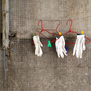 Gloves & Cloths Hanger, Hong Kong