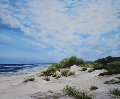 Duin en zee van Marianne Brons-Winter