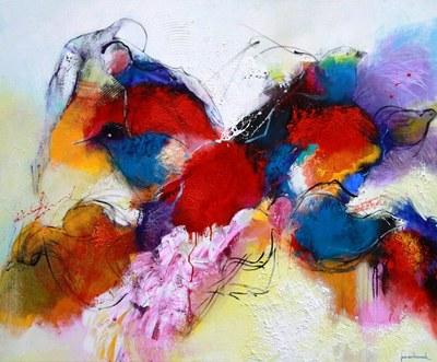 Jos van beek 1306 turbulentie opzoeken schilderijen acryl - Kleur opzoeken ...