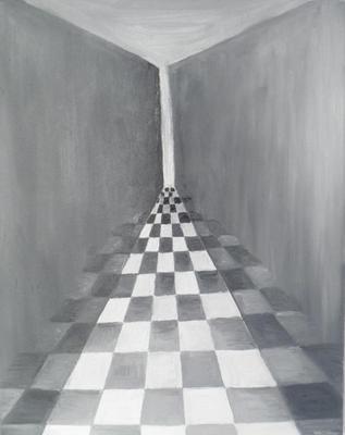 Verbazingwekkend Danielle Volkers- Overvoorde - zwart wit modern abstract OS-38