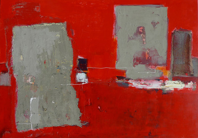 abstract in rood