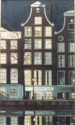 Evening on the Keizersgracht