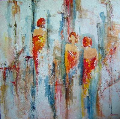 paarden schilderen acryl